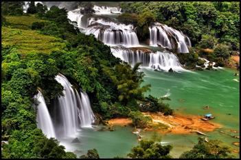 Cao Bang - Ban Gioc Waterfall - Cao Bang.
